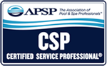 Clearview Pools is APSP certified